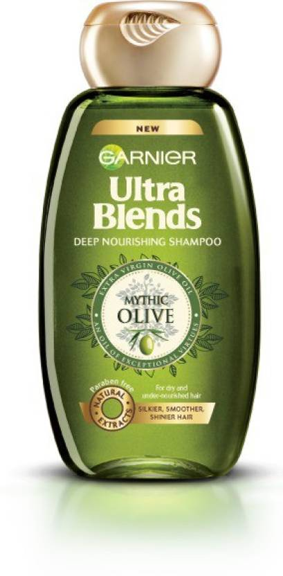 Garnier Ultra Blends Mythic Olive Shampoo (180 ml)