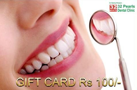 32 Pearls Gift Card Rs 100