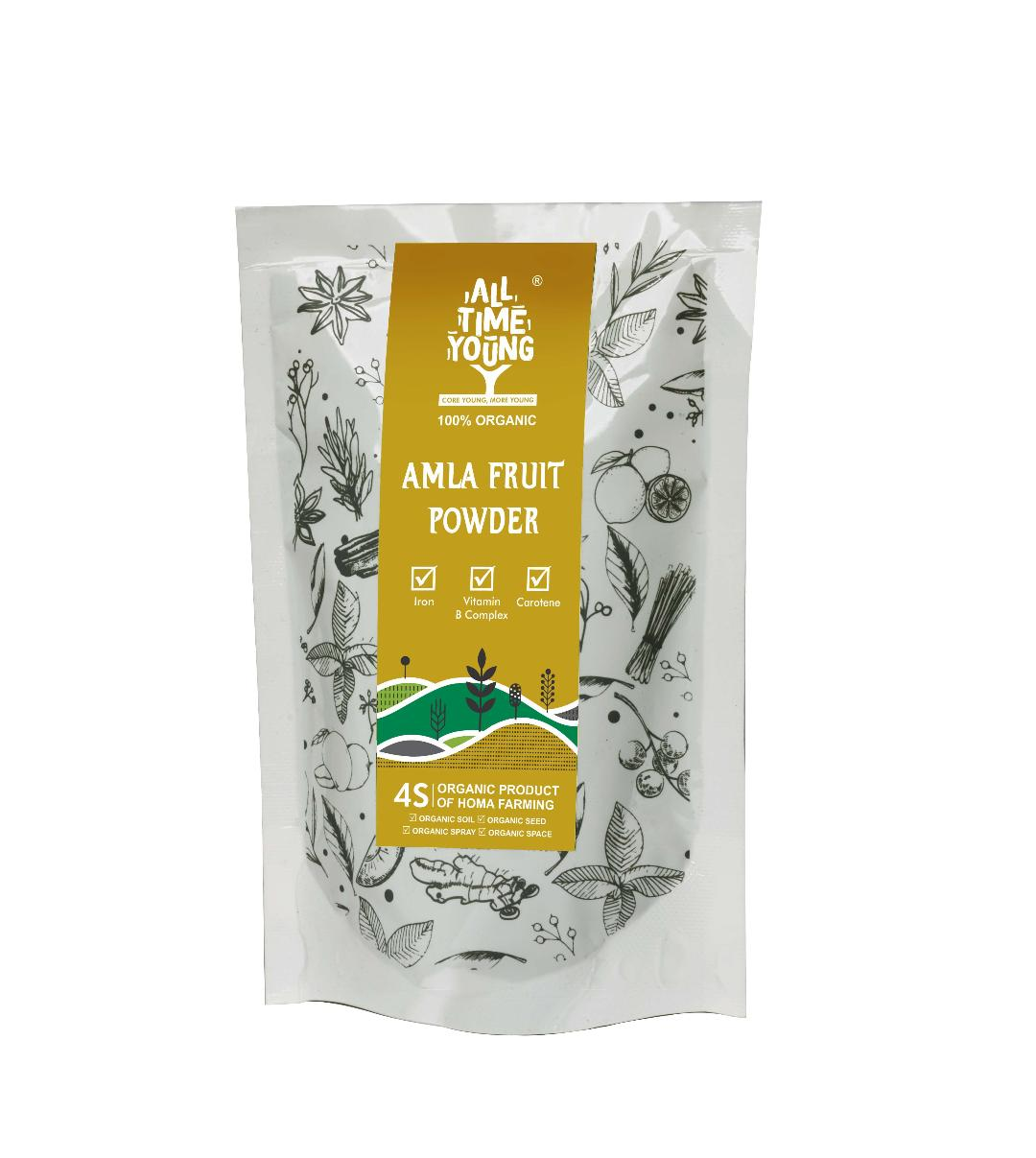 All Time Young Organic AMLA FRUIT POWDER 50 Grams